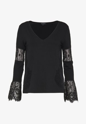 AMELIA - Long sleeved top - black