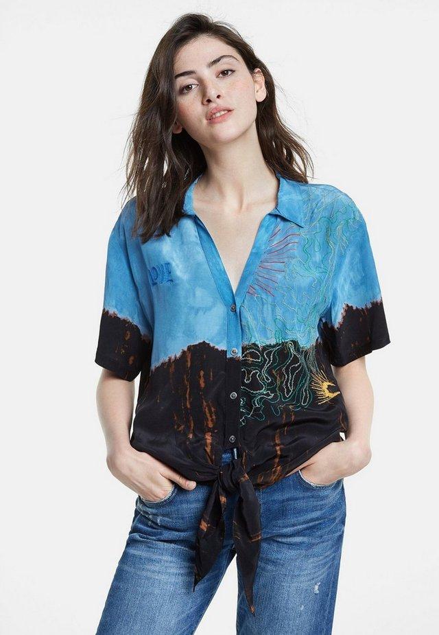 CAM RAVENA - Overhemdblouse - blue