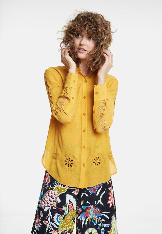 LECCE - Camicia - yellow