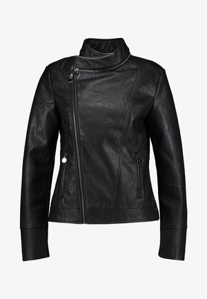 DANTE - Giacca in similpelle - black