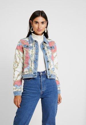 Jeansjakke - multi-coloured