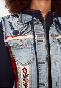 Desigual - CHAQ_LIBERTE - Denim jacket - blue - 3