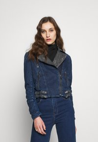Desigual - CHAQ DENIS - Giacca di jeans - denim medium dark - 0