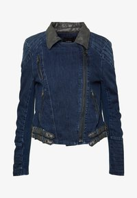 Desigual - CHAQ DENIS - Giacca di jeans - denim medium dark - 3