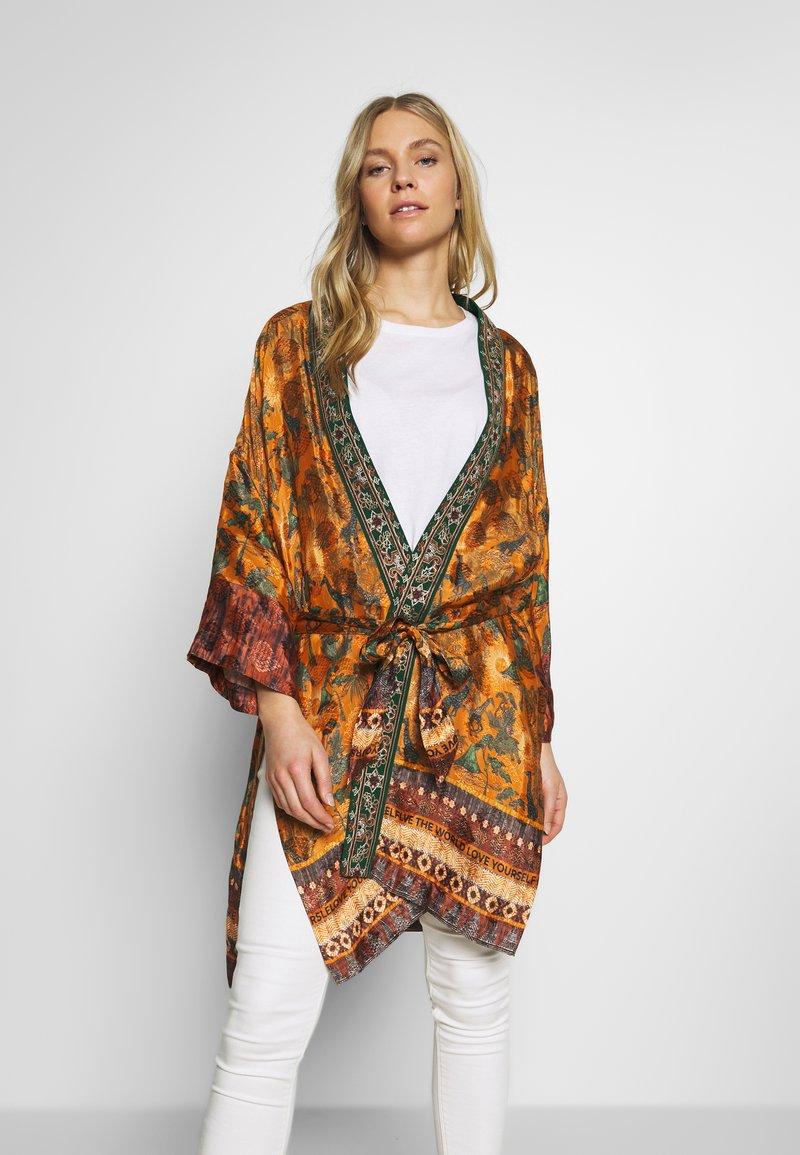 Desigual - CHAQ SABANA - Summer jacket - ocre
