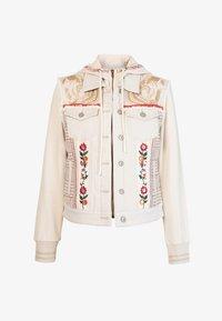 Desigual - ERICA - Denim jacket - white - 5