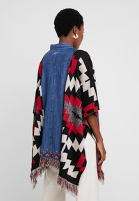 Desigual - PONCHO EXOTIC - Mantella - denim dark blue - 2