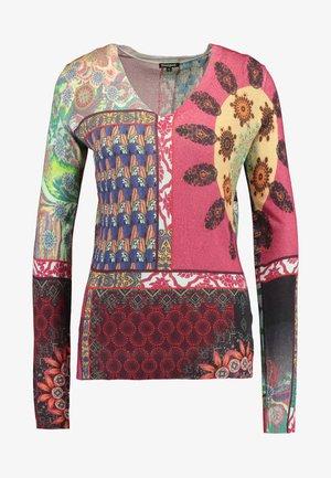 MICHELLE - Stickad tröja - ébano