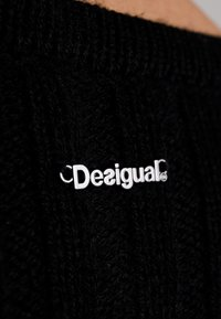 Desigual - BRIXTON - Strikpullover /Striktrøjer - black - 6