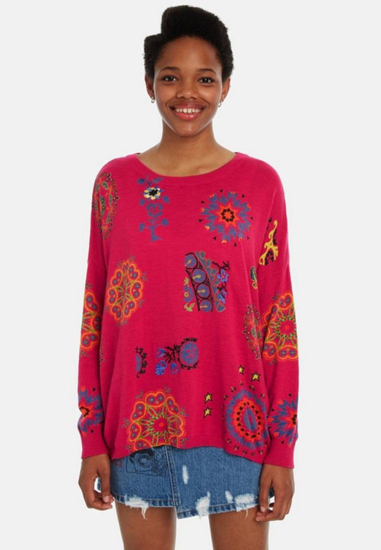 Desigual - Jumper - red