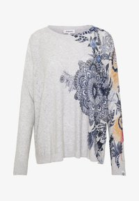 Desigual - PUSHKAR - Trui - light grey