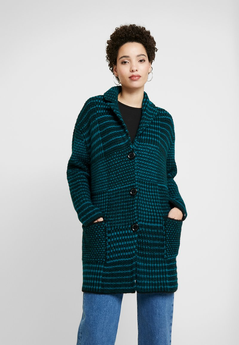 Desigual - SHANNON - Cardigan - shaded spruce