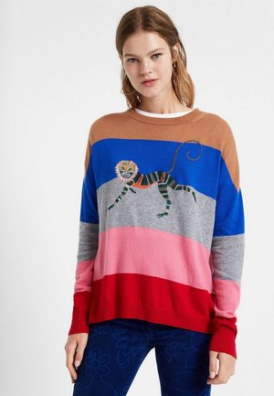 JERS MONKEY - Maglione - red