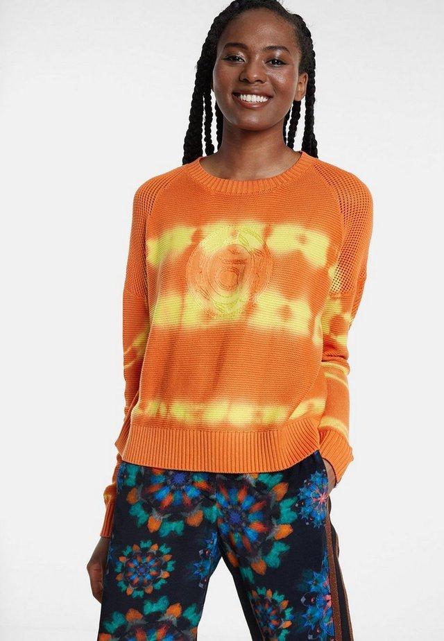 Jersey de punto - orange