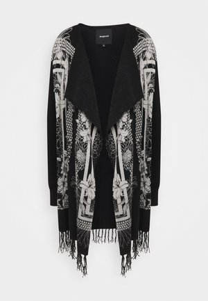 OSLO - Strickjacke - black