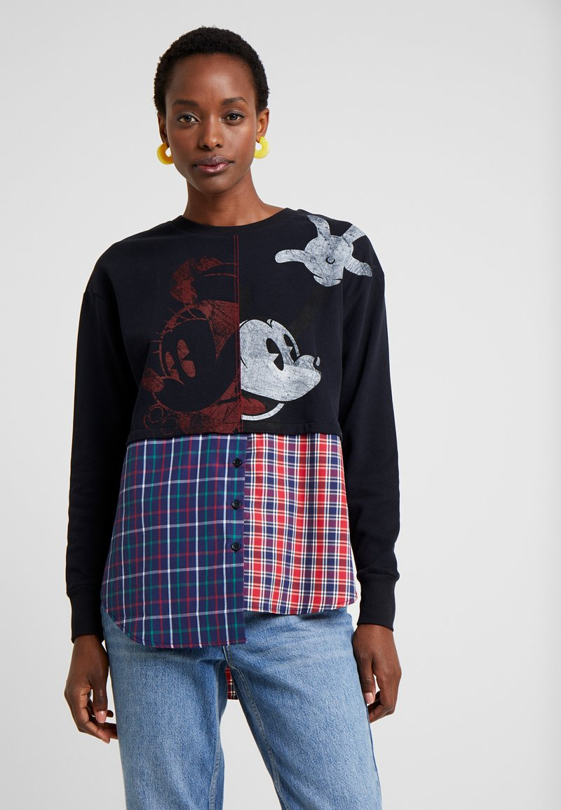 Desigual - ANNARAU - Sweatshirts - blue depths
