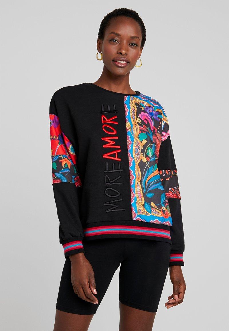 Desigual - MOREAMORE - Sweatshirt - black