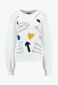 Desigual - MONI - Sweatshirt - blanco - 5