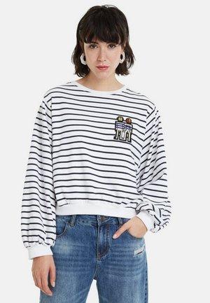 TENA - Sweatshirt - WHITE