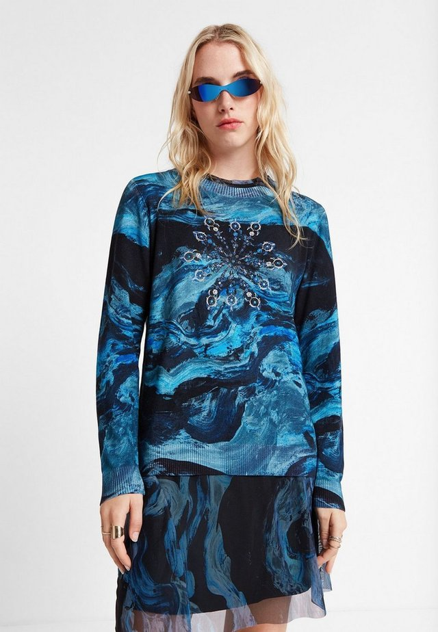SUIR - Maglione - blue