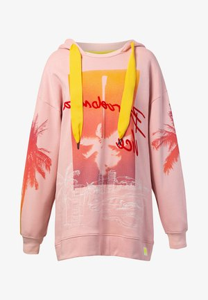 TROPICAL BARCELONETA - Hoodie - red
