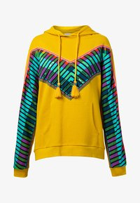 Desigual - PEPPERSS - Jersey con capucha - yellow - 4