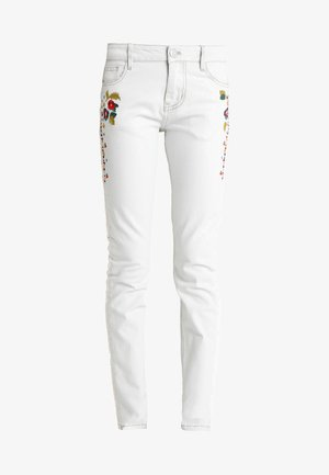 VOLOS - Jeans Skinny Fit - white denim