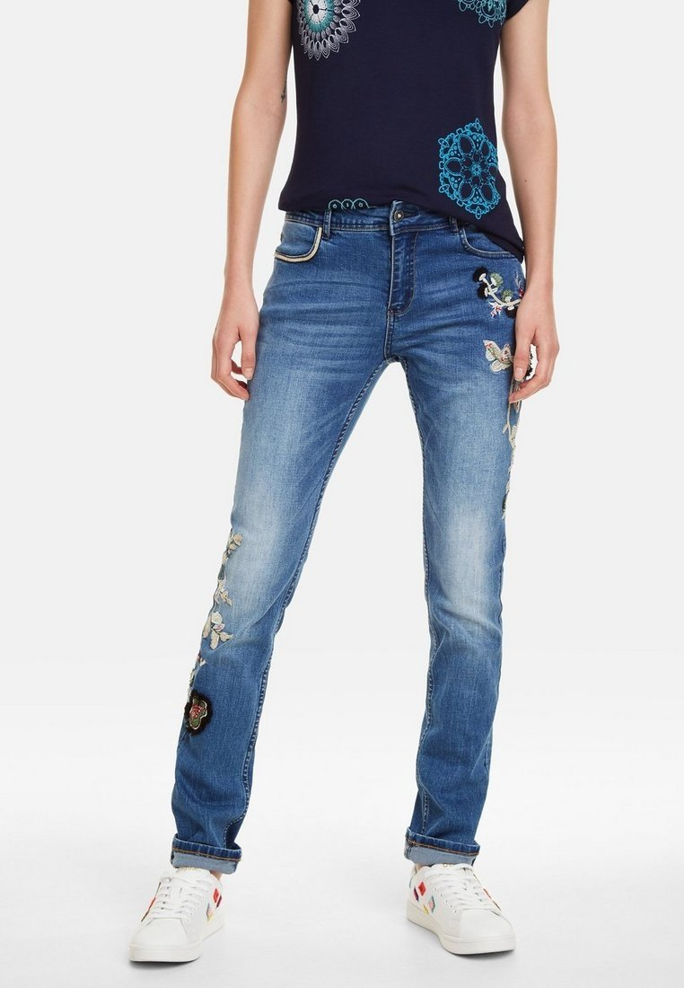 Desigual - Jeans Straight Leg - blue