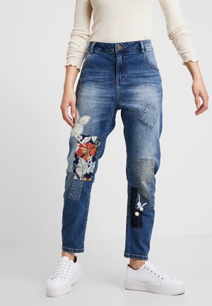 HONG KONG - Jeansy Relaxed Fit - blue denim