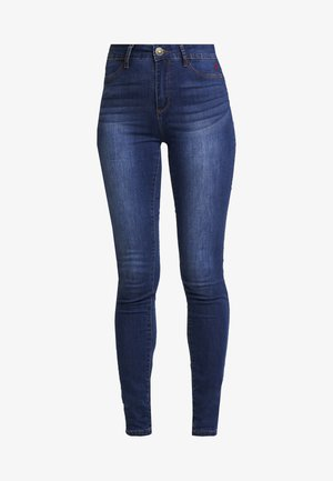 BASIC SKIN - Slim fit jeans - denim medium wash