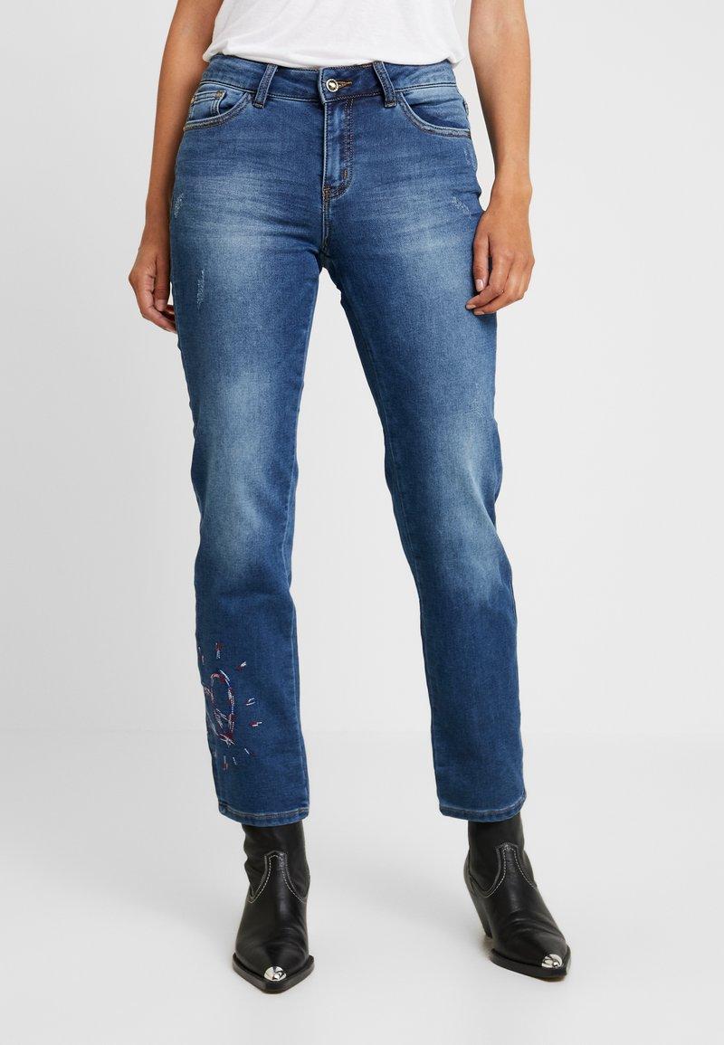 Desigual - SANFORD - Jeans Straight Leg - denim dark blue