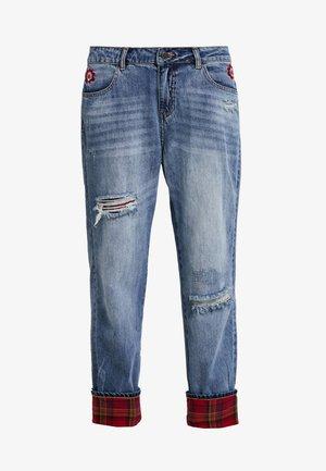BERNADETTE - Relaxed fit jeans - denim medium light