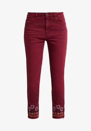 PANT MIAMI COLORS - Slim fit jeans - biking red