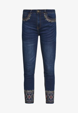 FLOYER - Slim fit jeans - denim dark blue