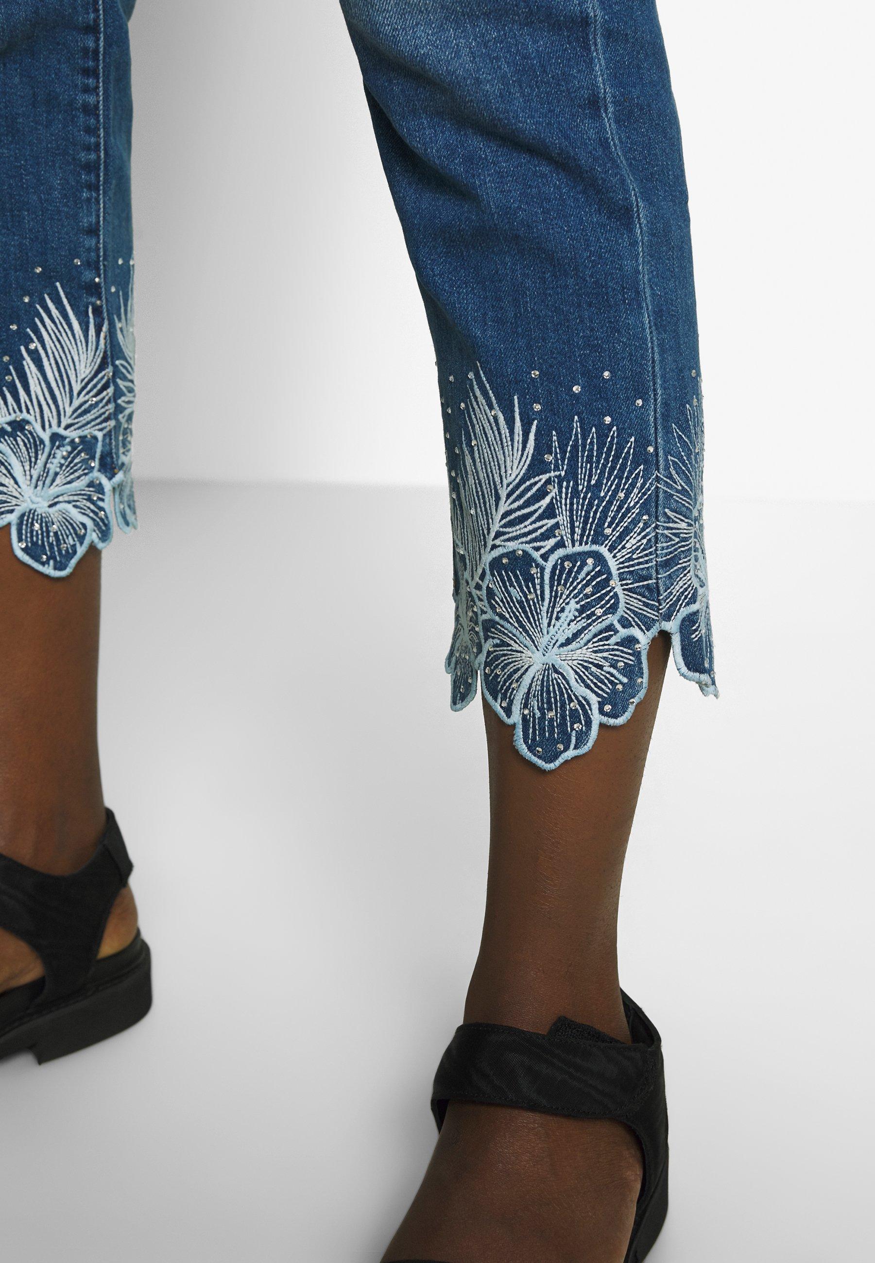 Desigual Hawibis - Slim Fit Jeans Denim Medium Wash