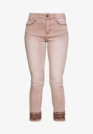 AFRI - Jeans Skinny Fit - rosa palo