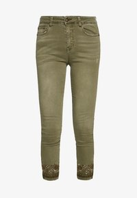 Desigual - PANT ONEIL - Jeans Skinny - verde militar - 5