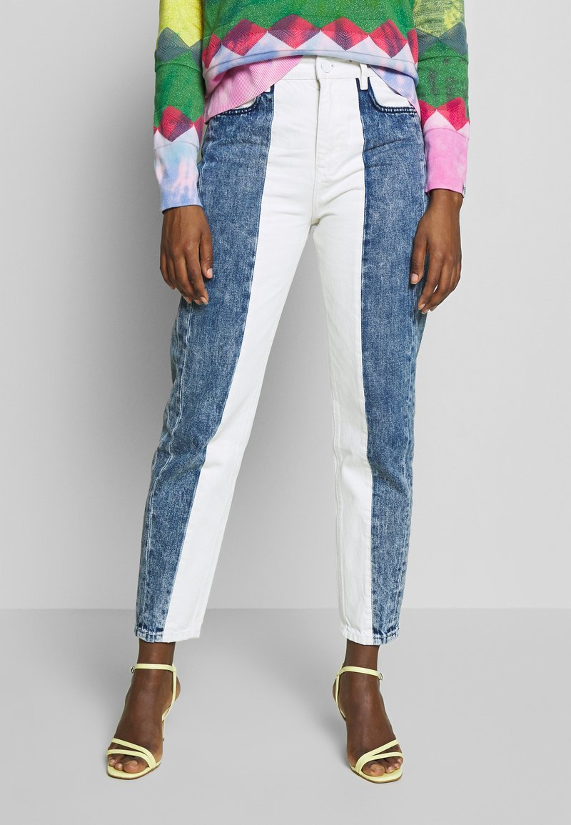 Desigual - DENIM MALTA - Relaxed fit jeans - blue denim