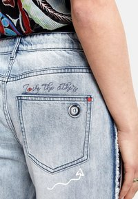 Desigual - Straight leg jeans - blue - 4