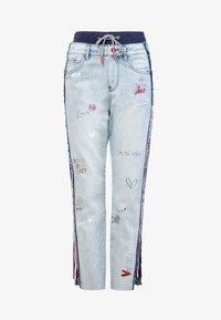 Desigual - Straight leg jeans - blue - 5