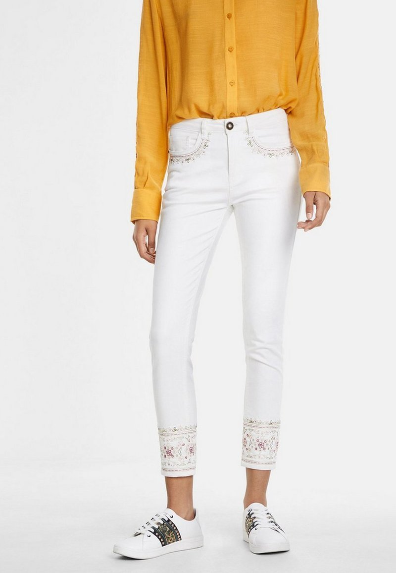 Desigual - Jeans Skinny - white