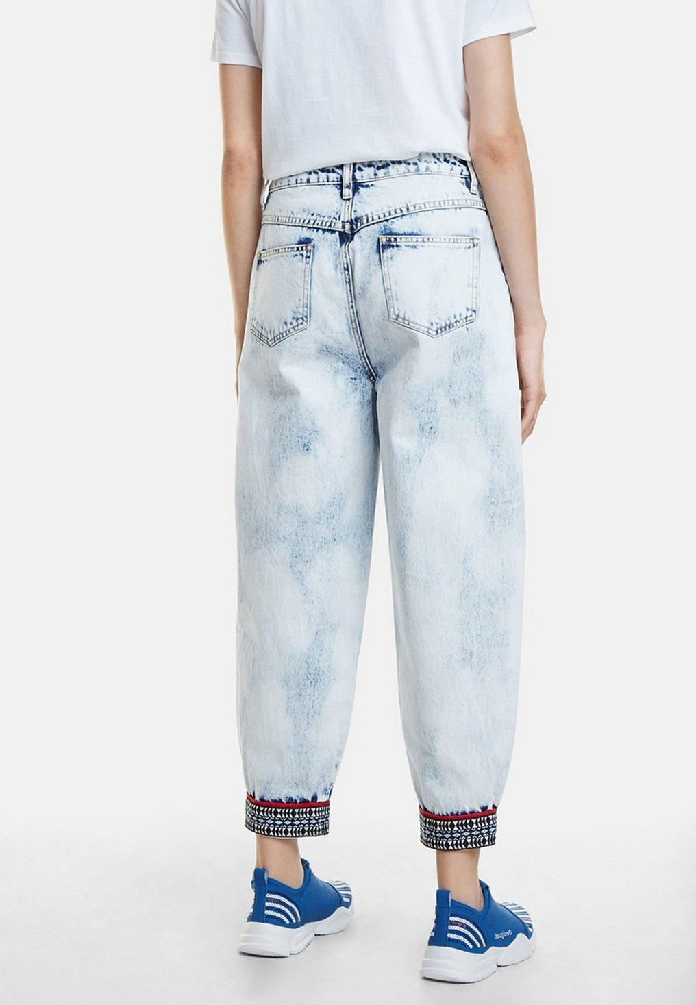 Desigual DENIM_TOUCH THE SKY - Jeansy Relaxed Fit - blue