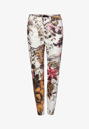 PANT_FLORE - Slim fit jeans - multicolor