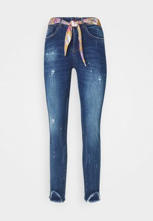 RAINBOW - Jeans slim fit - denim dark