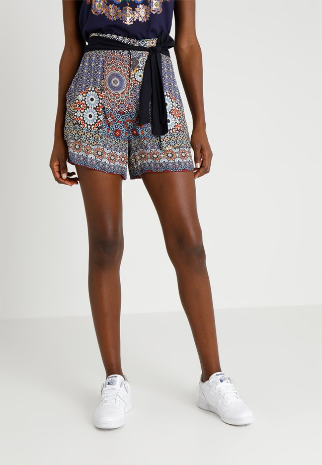 PANT SHASA - Shorts - blue