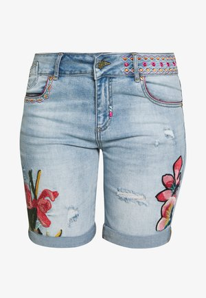 BONHAI - Jeansshort - denim light wash