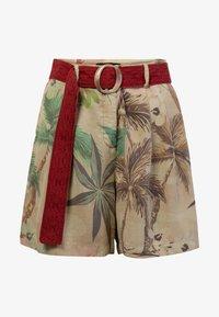 Desigual - PANT_PEARL HARBOUR - Shorts - brown - 4