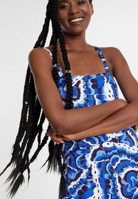 Desigual - PACIFIC OCENA - Overall / Jumpsuit /Buksedragter - blue - 3