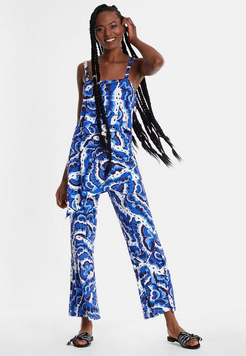Desigual - PACIFIC OCENA - Overall / Jumpsuit /Buksedragter - blue