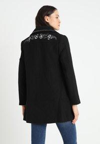 Desigual - COLLIN - Halflange jas - black - 2